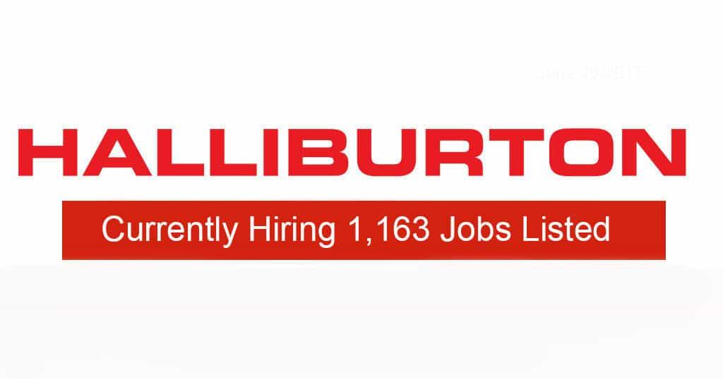 Halliburton's Hiring 1,163 jobs listed | Industrial Job Shop